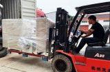 The Cutting Machine And Rewinding Machine Purchased By A Large Vietnamese Cable Company Are Shipped Today
