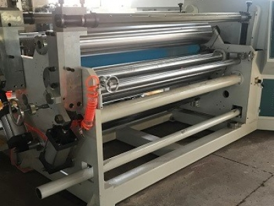 Model FTJ1100A Slitter Machine of Surface & Centre Reel