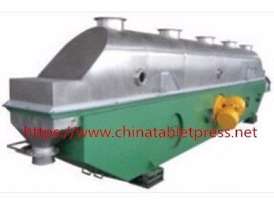 Vibrated fluidized bed dryer