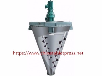 DSHS-0.1 Double Screw Cone Mixer
